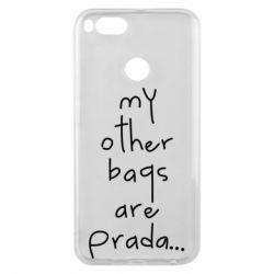 Чохол для Xiaomi Mi A1 My other bags are prada
