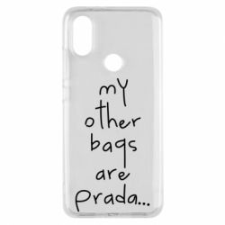 Чохол для Xiaomi Mi A2 My other bags are prada