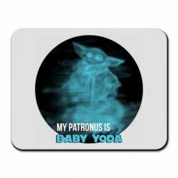 Килимок для миші My patronus is Baby yoda