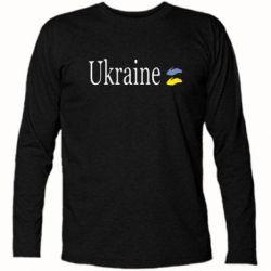 Футболка с длинным рукавом My Ukraine - FatLine