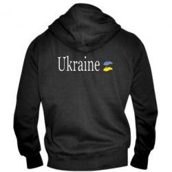Мужская толстовка на молнии My Ukraine - FatLine