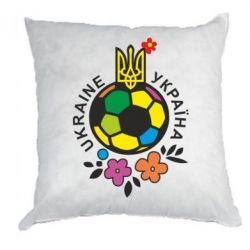 Подушка Мяч футбольный УКРАИНА цветной