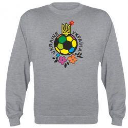 Реглан Мяч футбольный УКРАИНА цветной