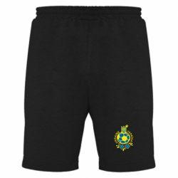 Мужские шорты Мяч футбольный УКРАИНА цветной