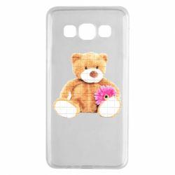 Чохол для Samsung A3 2015 М'який ведмедик