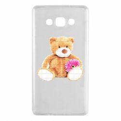 Чохол для Samsung A7 2015 М'який ведмедик