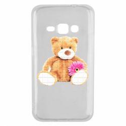 Чохол для Samsung J1 2016 М'який ведмедик