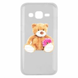 Чохол для Samsung J2 2015 М'який ведмедик