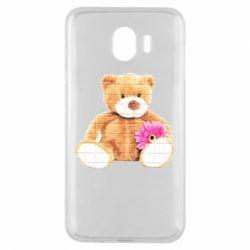 Чохол для Samsung J4 М'який ведмедик