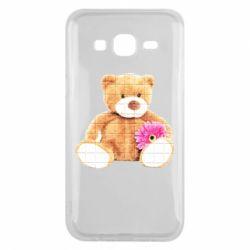 Чохол для Samsung J5 2015 М'який ведмедик