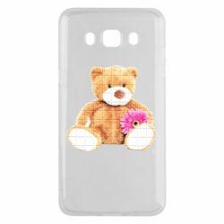 Чохол для Samsung J5 2016 М'який ведмедик