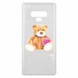 Чохол для Samsung Note 9 М'який ведмедик