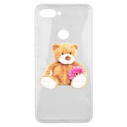 Чохол для Xiaomi Mi8 Lite М'який ведмедик