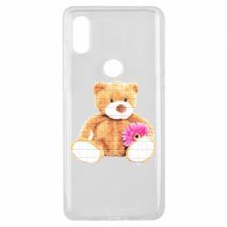 Чохол для Xiaomi Mi Mix 3 М'який ведмедик