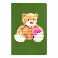 Блокнот А5 М'який ведмедик