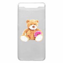 Чохол для Samsung A80 М'який ведмедик
