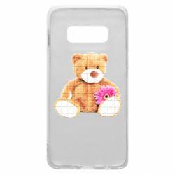 Чохол для Samsung S10e М'який ведмедик