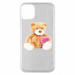 Чохол для iPhone 11 Pro М'який ведмедик
