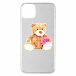 Чохол для iPhone 11 Pro Max М'який ведмедик