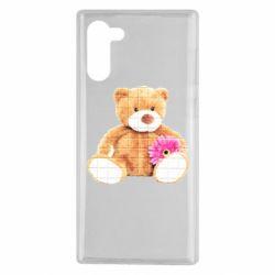 Чохол для Samsung Note 10 М'який ведмедик