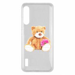 Чохол для Xiaomi Mi A3 М'який ведмедик