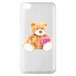 Чохол для Xiaomi Redmi Go М'який ведмедик
