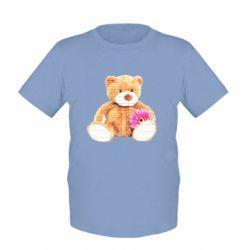 Детская футболка Мягкий мишка