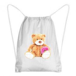 Рюкзак-мішок М'який ведмедик