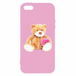 Чохол для iphone 5/5S/SE М'який ведмедик