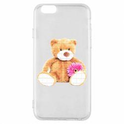 Чохол для iPhone 6/6S М'який ведмедик