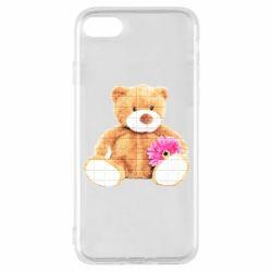 Чохол для iPhone 7 М'який ведмедик