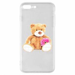 Чохол для iPhone 7 Plus М'який ведмедик