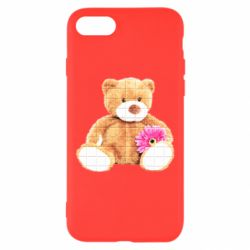 Чохол для iPhone 8 М'який ведмедик