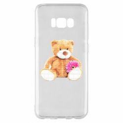 Чохол для Samsung S8+ М'який ведмедик