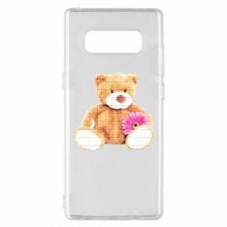 Чохол для Samsung Note 8 М'який ведмедик
