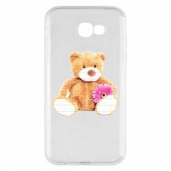 Чохол для Samsung A7 2017 М'який ведмедик
