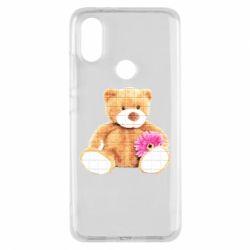 Чохол для Xiaomi Mi A2 М'який ведмедик