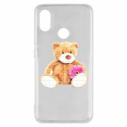 Чохол для Xiaomi Mi8 М'який ведмедик