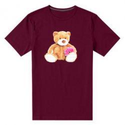 Чоловіча стрейчева футболка М'який ведмедик