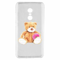 Чохол для Xiaomi Redmi Note 4 М'який ведмедик