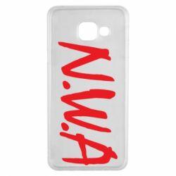 Чехол для Samsung A3 2016 N.W.A Logo
