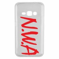 Чехол для Samsung J1 2016 N.W.A Logo