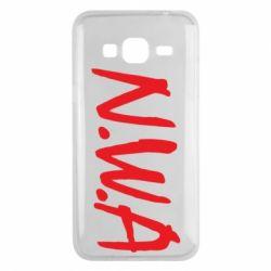 Чехол для Samsung J3 2016 N.W.A Logo