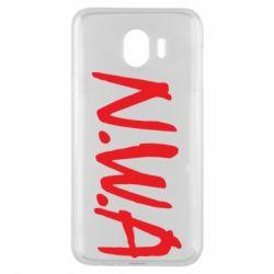 Чехол для Samsung J4 N.W.A Logo