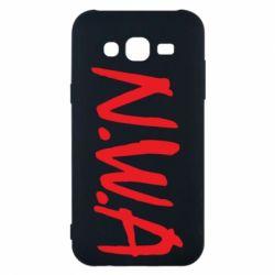 Чехол для Samsung J5 2015 N.W.A Logo