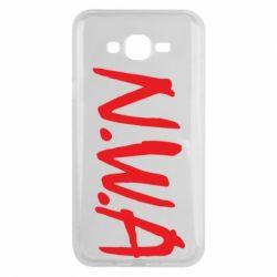 Чехол для Samsung J7 2015 N.W.A Logo