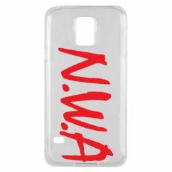 Чехол для Samsung S5 N.W.A Logo