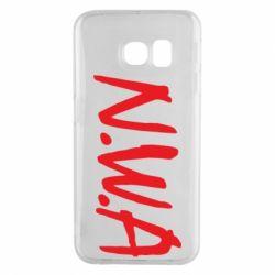 Чехол для Samsung S6 EDGE N.W.A Logo