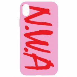 Чехол для iPhone XR N.W.A Logo