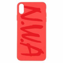 Чехол для iPhone Xs Max N.W.A Logo